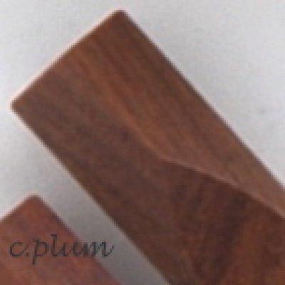 画像1: 五角箸置き 世界の銘木イペ