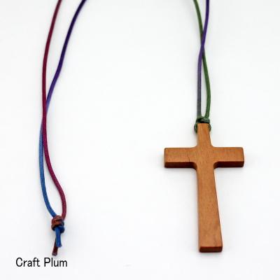 画像1: 斧折樺の十字架ペンダントB 【一点物】 (1)