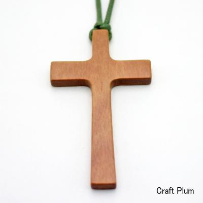 画像1: 斧折樺の十字架ペンダントC 【一点物】 (1)