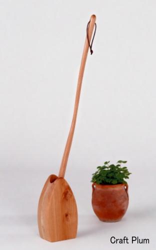 画像1: 斧折樺のくつべらセット ミレニアム70cm  (1)